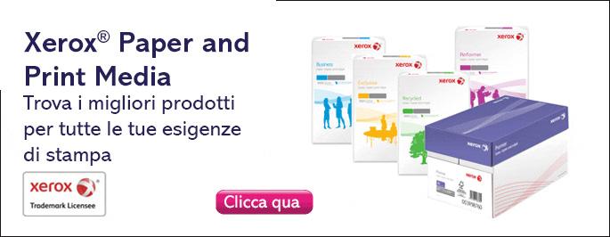 Acquista carta per ufficio Xerox online da Antalis Italia